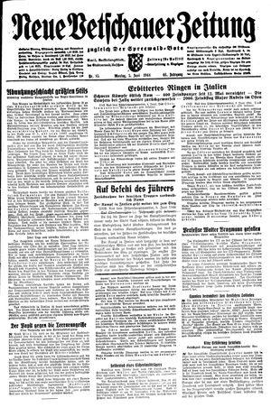 Neue Vetschauer Zeitung on Jun 5, 1944