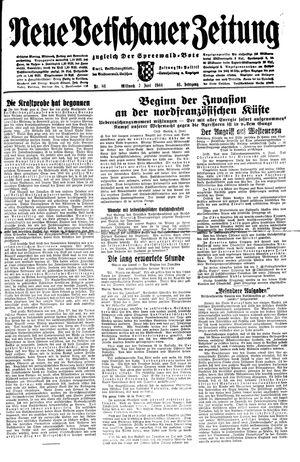 Neue Vetschauer Zeitung vom 07.06.1944