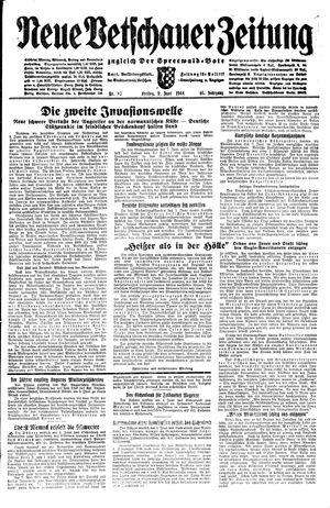 Neue Vetschauer Zeitung vom 09.06.1944