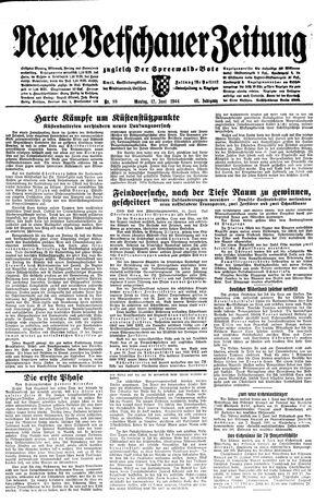Neue Vetschauer Zeitung vom 12.06.1944