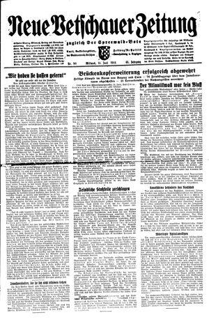 Neue Vetschauer Zeitung on Jun 14, 1944