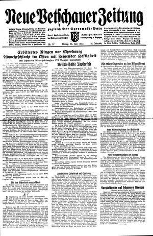Neue Vetschauer Zeitung vom 26.06.1944