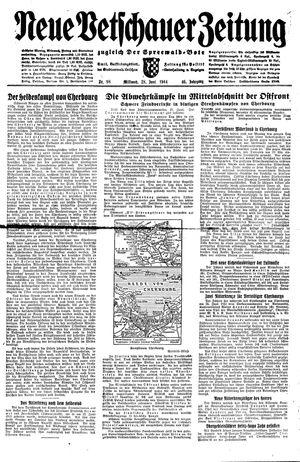 Neue Vetschauer Zeitung vom 28.06.1944