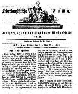 Oberlausitzische Fama vom 05.05.1831