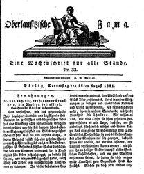 Oberlausitzische Fama