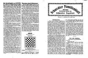 Schwedter Tageblatt on Apr 4, 1925