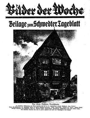 Schwedter Tageblatt vom 08.05.1925