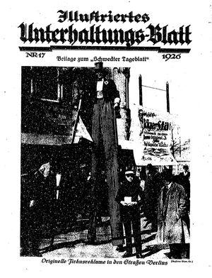 Schwedter Tageblatt on Apr 24, 1926