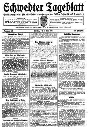 Schwedter Tageblatt on May 9, 1927