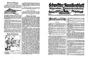 Schwedter Tageblatt vom 14.01.1928
