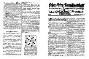 Schwedter Tageblatt vom 18.02.1928