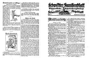 Schwedter Tageblatt on Feb 25, 1928
