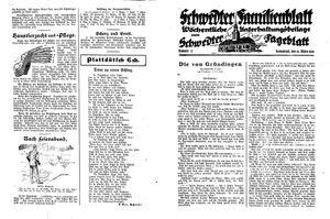 Schwedter Tageblatt vom 24.03.1928