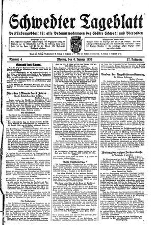 Schwedter Tageblatt vom 06.01.1930
