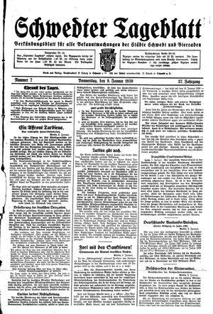 Schwedter Tageblatt vom 09.01.1930