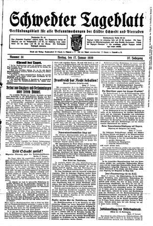 Schwedter Tageblatt on Jan 17, 1930