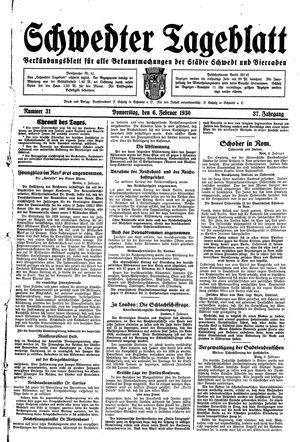 Schwedter Tageblatt vom 06.02.1930