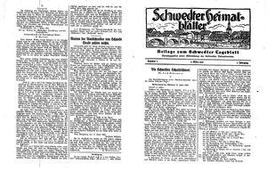 Schwedter Tageblatt on Mar 5, 1930