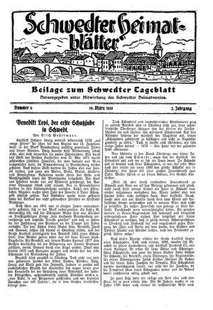 Schwedter Tageblatt vom 19.03.1930