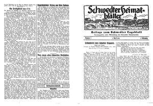Schwedter Tageblatt vom 03.04.1930