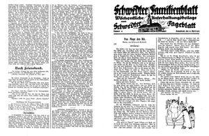 Schwedter Tageblatt vom 19.04.1930