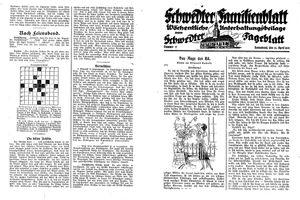 Schwedter Tageblatt vom 26.04.1930