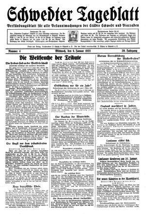 Schwedter Tageblatt vom 06.01.1932