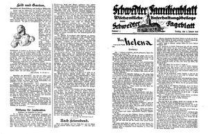 Schwedter Tageblatt vom 08.01.1932
