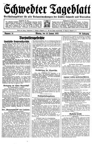 Schwedter Tageblatt vom 18.01.1932