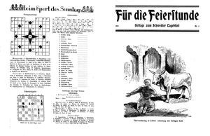 Schwedter Tageblatt vom 22.01.1932