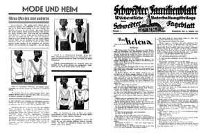 Schwedter Tageblatt vom 23.01.1932
