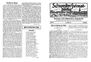 Schwedter Tageblatt vom 27.01.1932
