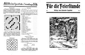 Schwedter Tageblatt vom 12.02.1932