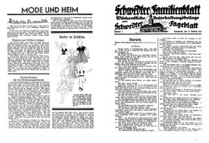 Schwedter Tageblatt vom 27.02.1932