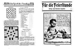 Schwedter Tageblatt vom 04.03.1932