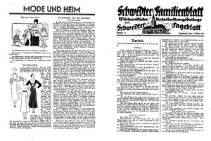 Schwedter Tageblatt vom 19.03.1932