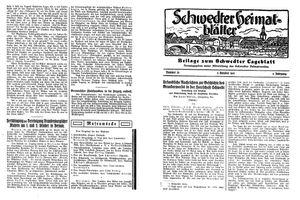 Schwedter Tageblatt vom 05.10.1932