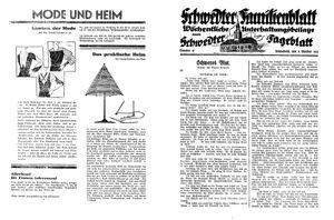 Schwedter Tageblatt vom 08.10.1932