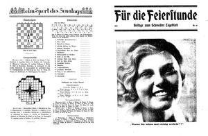 Schwedter Tageblatt vom 28.10.1932