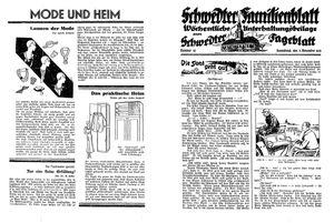 Schwedter Tageblatt vom 05.11.1932