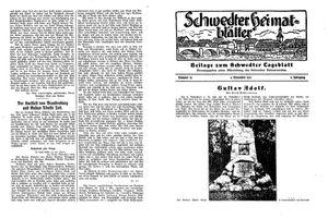Schwedter Tageblatt vom 06.11.1932
