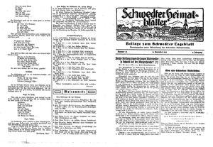 Schwedter Tageblatt vom 21.12.1932