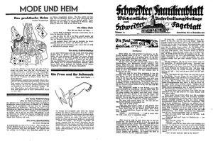 Schwedter Tageblatt vom 31.12.1932