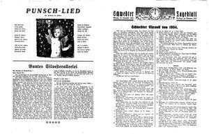 Schwedter Tageblatt vom 31.12.1934