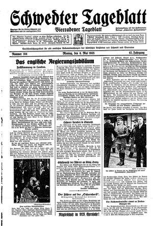 Schwedter Tageblatt vom 06.05.1935