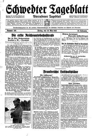 Schwedter Tageblatt vom 10.05.1935