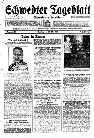 Schwedter Tageblatt vom 13.05.1935