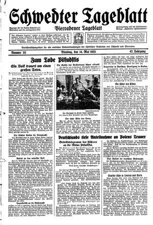 Schwedter Tageblatt vom 14.05.1935