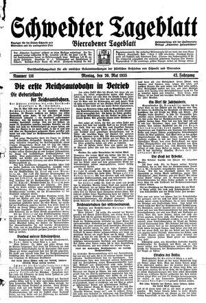 Schwedter Tageblatt vom 20.05.1935