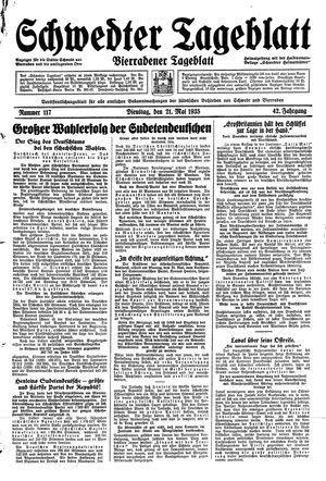 Schwedter Tageblatt vom 21.05.1935